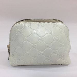 Gucci Embossed Pouch